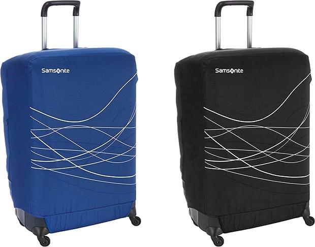 Funda para maleta Samsonite líneas