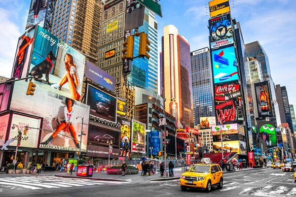 Times Square y Broadway